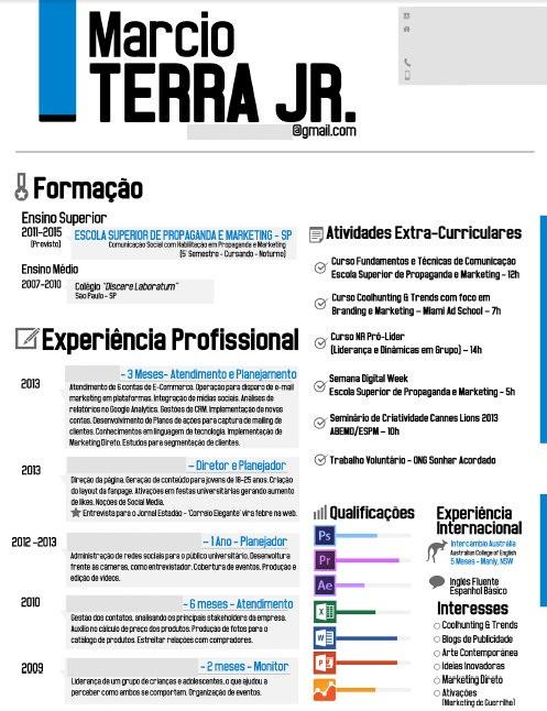 Curriculum vitae para preencher em portugues