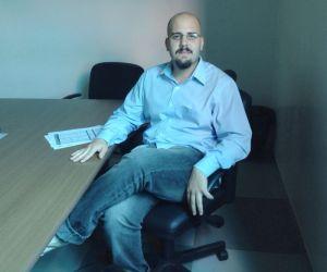André Basbaum, editor chefe do telejornal Foto: Thiago Montero