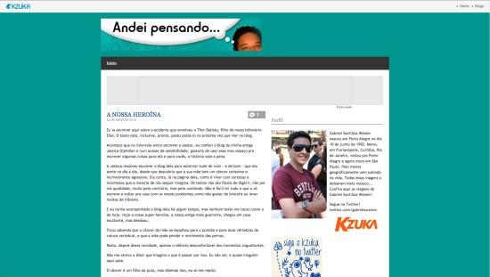Mesmo jovem, Gabriel já publicava seus textos na revista Kzuka  Imagem: Reprodução da Internet