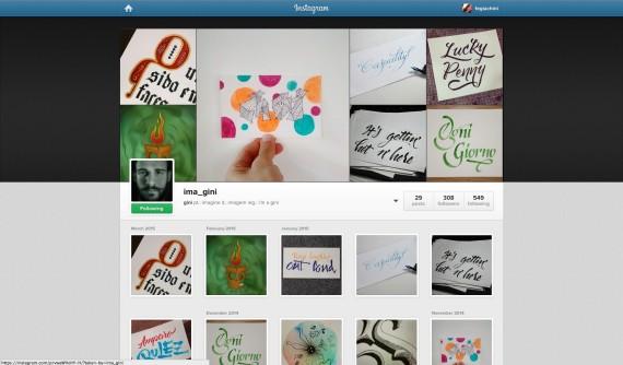 Lucas Gini ousou ao apresentar seus trabalhos em uma rede social popular Imagem: Reprodução da Internet