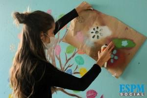 Projeto Vidas Coloridas, promovido pela ESPM Social. Foto:divulgação
